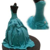 Mannequin Dress Cake #mannequin #dress #cake