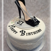 Made This Stiletto Cake For A Dear Friends Birthday Party Made this stiletto cake for a dear friend's Birthday party