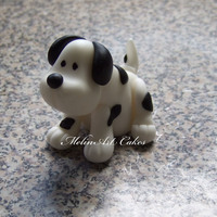 Little Puppy Cake Topper