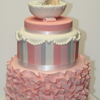 Little Girl's Shower Cake
