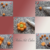 Miniature Flower For more Tutorials visit my Facebook page at https://www.facebook.com/MelinArtCakes….New tutorials coming soon.