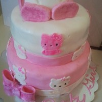 Hello Kitty Baby Shower Cake Hello Kitty Baby Shower Cake