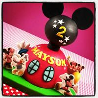 Mickey Mouse Clubhouse Cake *Mickey Mouse Clubhouse cake