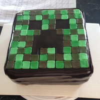 Minecraft Creeper Cake Minecraft creeper cake