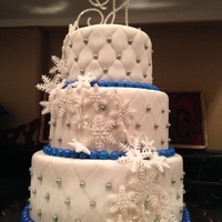 Winter Wonderland Wedding Cake Winter wonderland wedding cake