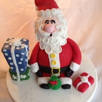 Santa Cake For My Nephews Who Cant Wait Until The Big Day Santa cake for my nephews who can't wait until the big day!