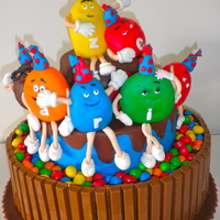 M&m's Cake: All Together Now! By Marta Veiga Icake m&m's cake: All together now! by Marta Veiga ICAKE