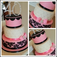 Fabulous & Forty Cake