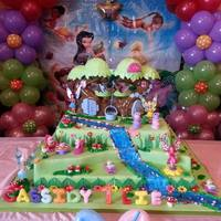 Tinkerbell And Friends Cake *