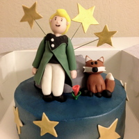 The Little Prince One of my customers wanted to give his significant other a cake that represented their favorite book on their one year anniversary - The...