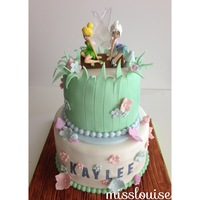 Fairies In The Magical Forest Cake Fairies in the magical forest cake :)