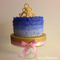 Ruffles And Tiaras Cake fit for a princess!