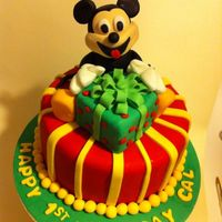 Mickey Mouse Cake *
