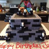 Monster Fighter Lego Cake *Monster Fighter Lego cake.