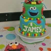 Made This Cake For My Sons First Birthday After Seeing All Of The Wonderful Sesame Street Cakes On Herethank You Made this cake for my Son's first birthday, after seeing all of the wonderful Sesame Street cakes on here...thank you! :)
