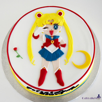 Sailor Moon Cake sailor Moon cake for a special birthday.