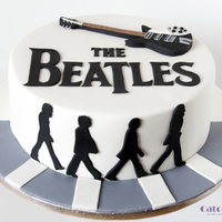 The Beatles Cake Beatles cake for a big fan of the band