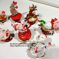 Waiting For Christmas Time. xmas cupcake collection