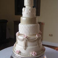 Made By Patricia Mann Cake Designs This 6 Tier Cake Was Iced In Ivory Nude And Pale Pink Made by Patricia Mann Cake Designs. This 6 tier cake was iced in ivory, nude and pale pink.
