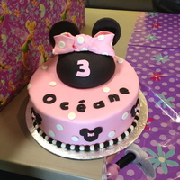 Minnie Mousebirthday Cake   Minnie MouseBirthday Cake