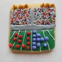 Football Stadium Cookies football stadium cookies following tuturial from Ali Bee's Bake Shop http://snargblog.blogspot.com/2013/01/tutorial-stadium-cookies....