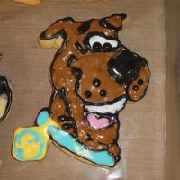 Scooby Doo Sugar Cookies With Royal Icing first time making sugar cookies with royal icing now I am addicted. Made these for my sons birthday party. I used joy of baking recipes for...