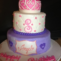 Princess Cake For 8 Year Old   Princess cake for 8 year old