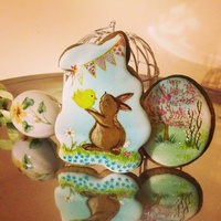 Easter Bunny Cookies Easter bunny cookies
