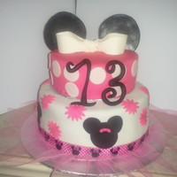 Minnie Mouse Cake   Minnie mouse cake by creative sweets by nancy.www.creativesweetsbynancy.com