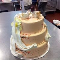 Bird Wedding Cake   *Front