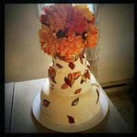 Fall Wedding Cake   Fall wedding cake