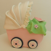 Baby Cart Cake Topper