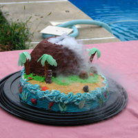 Volcano Cake One Of My Most Favorite Cakes It Was Made For One Of My Nephews We Used Dry Ice To Make It Smoke And Also Had It Spew Lava Volcano cake: One of my most favorite cakes, it was made for one of my nephews, we used dry ice to make it smoke, and also had it spew &...