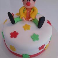 Carnival Birthday Cake Carnival Clown