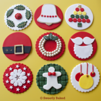 Christmas Cake Toppers Merry Christmas Everyone   Christmas Cake Toppers. Merry Christmas Everyone!!