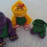 Barney And Friends Cake *