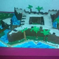 Fort Castillos De San Marcus, St. Augustine   Social Studies School project for my 4th grade daughter, She did most of the work.. I helped her along the way..