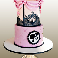 Vintage Barbie Vintage Barbie cake for a beautiful little girl..