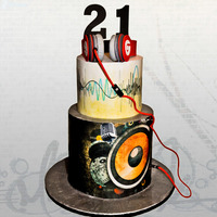 Love Music I made this cake for my assistants grand son who turned 21 this week.It was such a pleasure to do something for her after all the help she...
