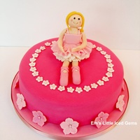 Ballerina Cake Made for a very pretty 8 year old ballerina, her request was for it to be very pink! I sandwiched a secret layer of pink sponge in the...