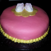 The First Cake I Ever Made It Was When My Daughter Was Born The first cake I ever made, it was when my daughter was born