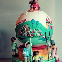 "With This Cake Which Has Been Realised For An Extraordinary Charity Contest Called Cake For Children By The Organization La Citta Dei Rag With this cake, which has been realised for an extraordinary charity contest called ""Cake for Children by the organization &..."