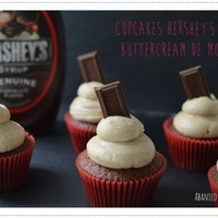 Hersheys Syrup Cupcakes With Moka Buttercream Hersheys syrup cupcakes with moka buttercream