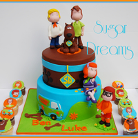 Here Is One Of The Cakes That I Made During Last Weekend For A Scooby Doo Themed Partyi Took Inspiration From A Royal Bakerys Cakeand Here is one of the cakes that I made during last weekend for a Scooby doo themed party.I took inspiration from a Royal Bakery's cake...