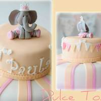 Baby Elephant Cake Inspired Sugar High Cake Toppers Baby Elephant Cake. Inspired Sugar High cake toppers.