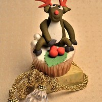 Christmas Cupcake Decorations Christmas cupcake design - reindeer topper