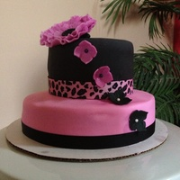 Made This Cake For My Daughters Bday Made this cake for my daughter's Bday!!
