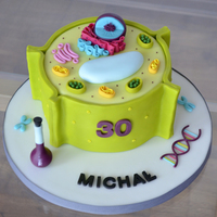 Plant Cell Cake