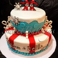 Thing 1 Thing 2 Winter Cake Thing 1 thing 2 Winter Cake