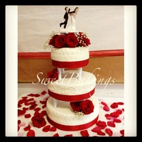 Wedding Cakes My Second Wedding Cake :D